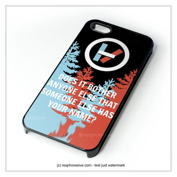 Twenty One Pilots  iPhone 4 4S 5 5S 5C 6 6 Plus , iPod 4 5 , Samsung Galaxy S3 S4 S5 Note 3 Note 4 , HTC One X M7 M8 Case