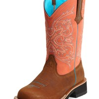 Ariat ® Fatbaby Cowgirl Tall Western Boot - Tanned Copper/Peach