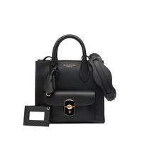 Balenciaga Padlock Mini All Afternoon Black - Women's Cross Body Bag