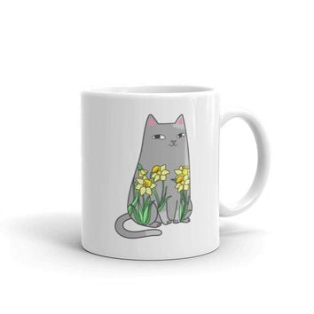 Spike & Daffodils Coffee Mug