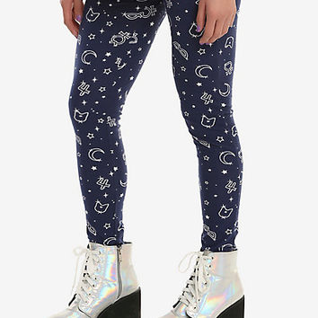 Sailor Moon Symbols Leggings