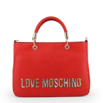 Love Moschino Women Red Handbags