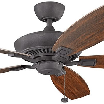 0-002656>Tulle Distressed Black Ceiling Fan