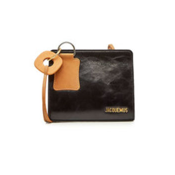 EIvissa Leather Shoulder Bag - Jacquemus | WOMEN | US STYLEBOP.COM