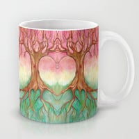 Above and Below - tree painting Mug by micklyn