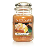 Pumpkin Pie : Large Jar Candles : Yankee Candle