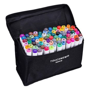 80 Colors Artist Dual Head Sketch Markers Set For Manga Marker School Drawing Marker Pen Design Supplies interior design