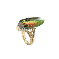 Bibi Gold Scarab Ring - Gold Scarab Ring