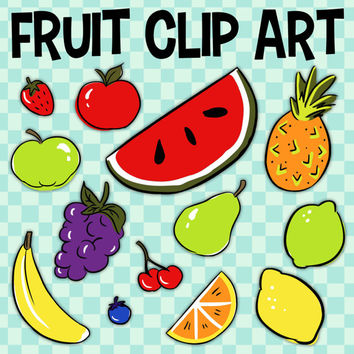 Fruit Clip Art, Banana Clip Art, Food Group Art, Pineapple Clipart, School Fruit, Red Apple Clip Art, Food Pyramid, Classroom Clipart