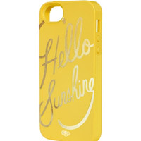 Hello Sunshine iPhone 5+5s Case - INLAY