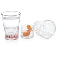 ThinkGeek :: Sidekick Shot Glass 4-Pack