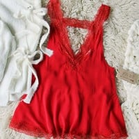 Sophie Lace Layering Tank