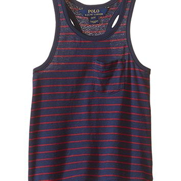 Polo Ralph Lauren Kids Jersey Stripe Tank Top (Toddler)