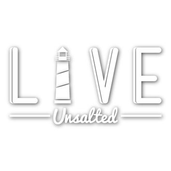LIVE Unsalted Decal