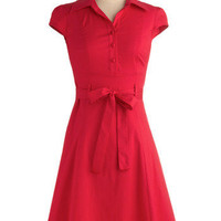 Soda Fountain Dress in Cherry | Mod Retro Vintage Dresses | ModCloth.com
