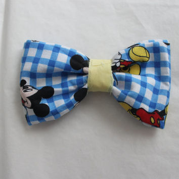 Handmade Hair Bows/ Bow Ties, custom available