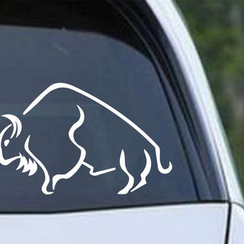 Buffalo Bison (03) Die Cut Vinyl Decal Sticker