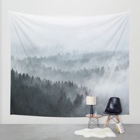 The Waves Wall Tapestry by Tordis Kayma | Society6