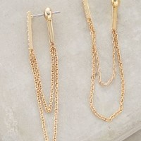 Chainlink Earrings by Anthropologie Gold All Earrings