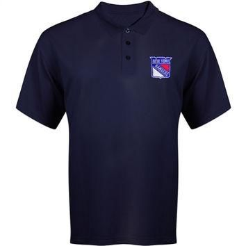 Majestic New York Rangers Big & Tall Synthetic Polo Shirt