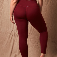 Aerie Real Me Play Legging, Burgundy Ivy