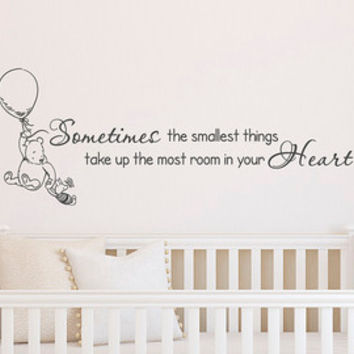 Winnie The Pooh Wall Decal If You Live To Be 100 Poo