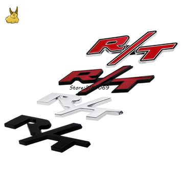 Car Styling Stickers Auto Body Decoration Emblem Badge Decal Letter RT Type For Dodge JCUV Caliber RAM Nitro Challenger Avenger
