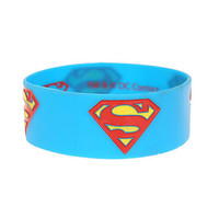 DC Comics Superman Logo Rubber Bracelet | Hot Topic