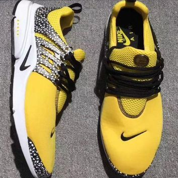 Nike Air Presto Trending Unisex Leisure Sport Running Shoes Sneakers Yellow I