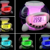 Magic 7 Color Change Led Light Lamp Ball Alarm Clock:Amazon:Home & Kitchen