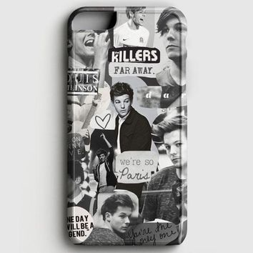 Louis Tomlinson Collage iPhone 6/6S Case
