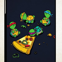 Cute Teenage Mutant Ninja Turtles Y1284 iPad 2 3 4, iPad Mini 1 2 3, iPad Air 1 2 , Galaxy Tab 1 2 3, Galaxy Note 8.0 Cases