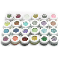 30 Mixed Colors Make Up Powder Glitter Mineral Spangle Eyeshadow Makeup New Eye Shadow Pigments Art Cosmetics Naked Nude