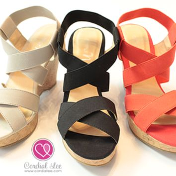 Icon Criss Cross Wedges