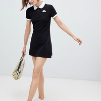 Monki Turtleneck A-line Dress at asos.com