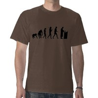 Chemist pharmacist chemistry evolution gifts tee shirt from Zazzle.com