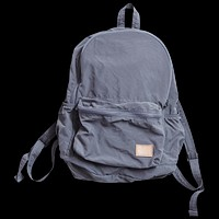 Nylon Packable Day Pack, Grey