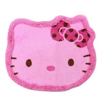 Hello Kitty Head-shape Carpet Doormat Floor Mat Rug Pink Sanrio