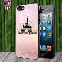 Forever Young Disney case for iPhone 5, 5S, 4, 4S and Samsung Galaxy S3, S4