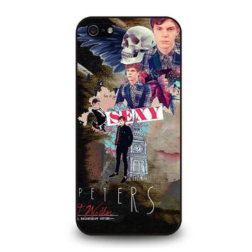EVAN PETERS COLLEGE iPhone 5 / 5S / SE Case Cover