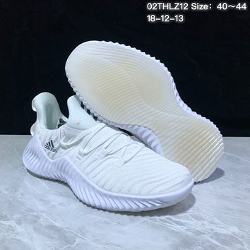 KUYOU A370 Adidas Alphabounce Beyond Breathable Runing Shoes White