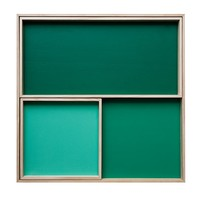 Set of 3 Display Trays - Green