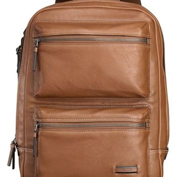 Men's Tumi 'Mission - Bryant' Leather Backpack