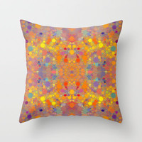 Set Throw Pillow by Deniz Erçelebi