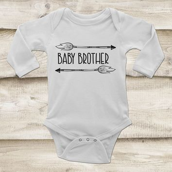 Baby Brother Outfit - Sibling Baby Outfit