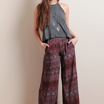 Chasing Sunsets Printed Lounge Pants