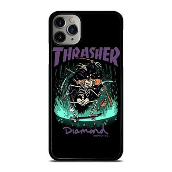 THRASHER DIAMOND SUPPLY CO iPhone Case Cover