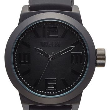 Men's Kenneth Cole Reaction Silicone Strap Watch, 48mm