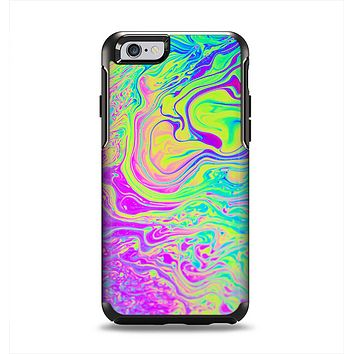 The Neon Color Fushion Apple iPhone 6 Otterbox Symmetry Case Skin Set