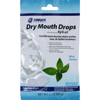 Hager Pharma Dry Mouth Drops - Mint - 2 Oz